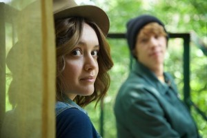 """ME AND EARL AND THE DYING GIRL - 2015 FILM STILL - Pictured: Olivia Cooke as """"Rachel"""" and Thomas Mann as """"Greg"""" - Photo Credit: Anne Marie Fox © 2015 Twentieth Century Fox Film Corporation All Rights Reserved"""