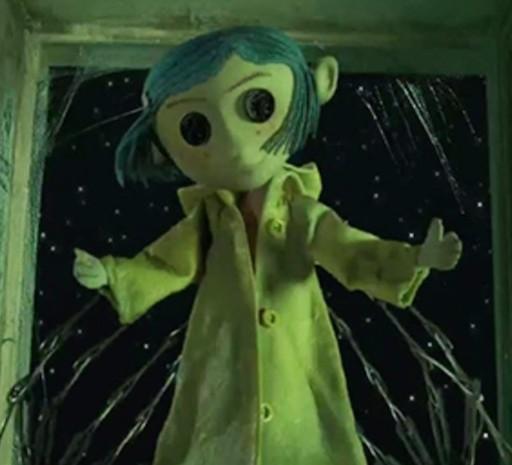 Janet's Animation Corner: Creepy Coraline