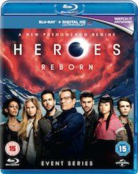 Heroes Reborn UK BD Retail Sleeve 2D