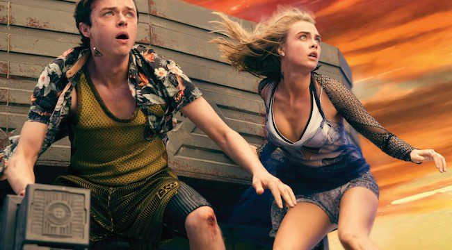 M-4VDF-16373afrpsd Final (Left to right.)    Dane DeHaan, and Cara Delevingne star in EuropaCorp's  Valerian and the City of a Thousand Planets. Photo credit: Vikram Gounassegarin © 2016 VALERIAN SAS – TF1 FILMS PRODUCTION